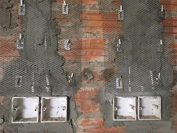 lưới tô tường
