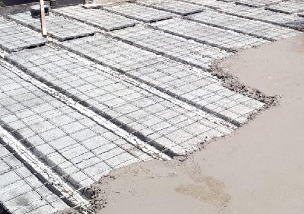Lưới thép hàn đổ sàn panel