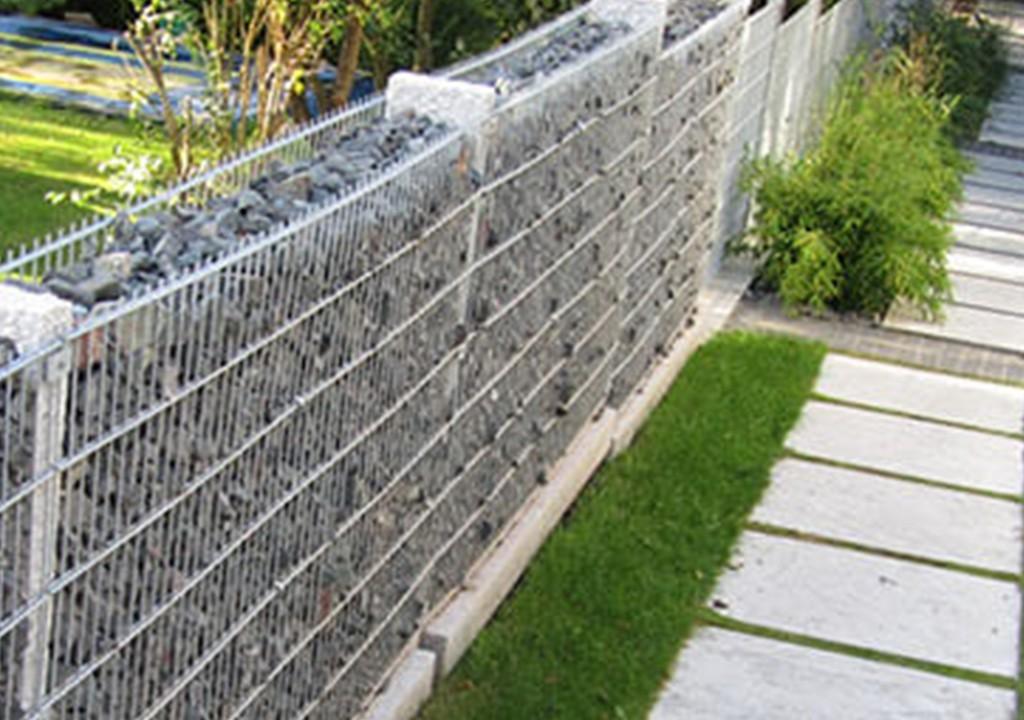 Lưới thép làm rọ đá trang trí tại đà nẵng