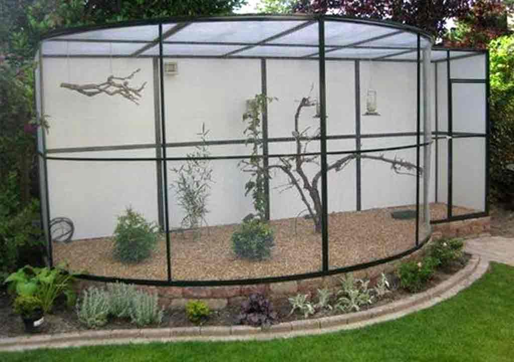 Lưới inox làm chuồng nuôi chim cảnh