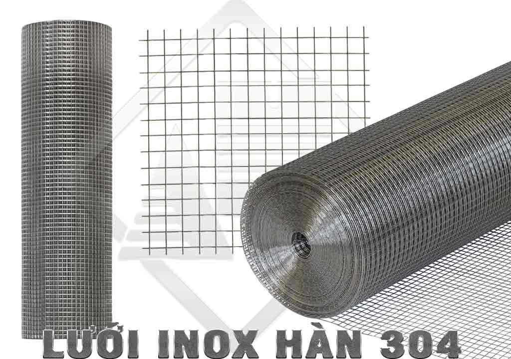 Lưới inox hàn 304 13x13cm